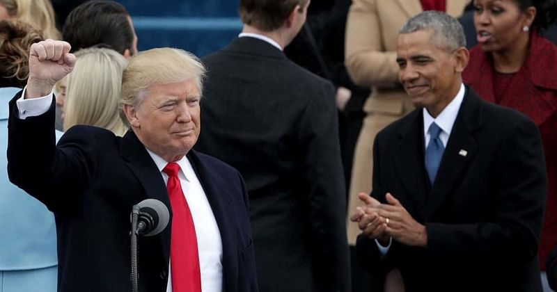 Trump's approval rating surpasses that of Obama's eight years ago across all major polls