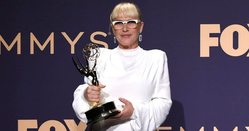 Image result for patricia arquette emmys 2019