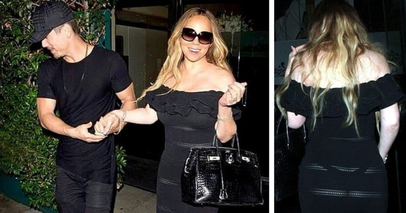 Mariah Carey Flashes Thong Underwear In Crochet Maxi Dress While On Dinner Date With Beau Bryan Tanaka Meaww