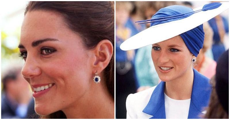 Kate Middleton keeps Diana's memory alive with these beautiful royal heirlooms