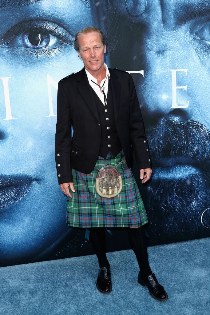 Actor Iain Glen attends the premiere of HBO's 'Game Of Thrones' season 7 at Walt Disney Concert Hall on July 12, 2017, in Los Angeles, California. (Getty Images)