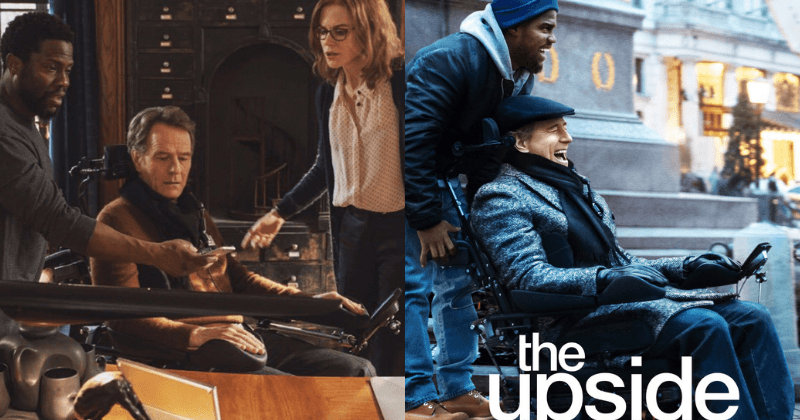 The Upside' trailer: Kevin Hart and Bryan Cranston tug on