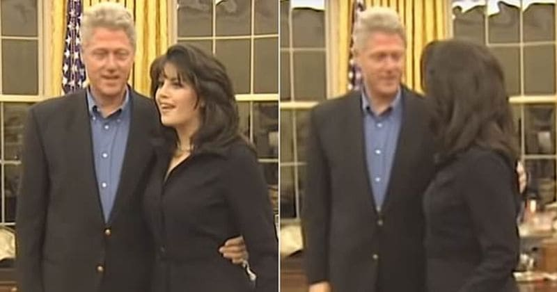 Image result for monica lewinsky bill clinton images