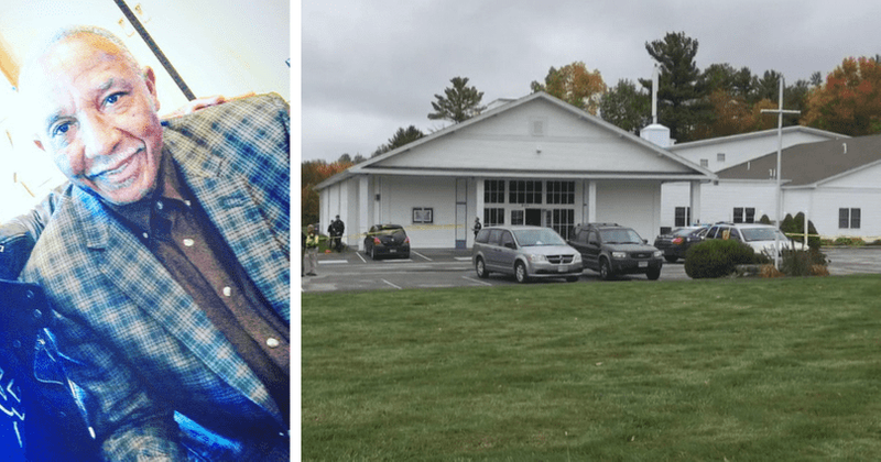 Gunman opens fire on wedding ceremony in New Hampshire injuring bride and bishop before being tackled to the ground by guests