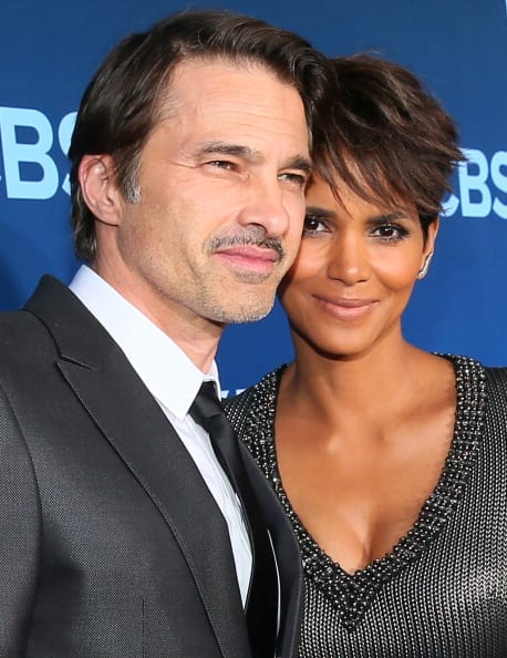 Actors Olivier Martinez (L) and Halle Berry attend Premiere Of CBS Television Studios & Amblin Television's 'Extant' at California Science Center on June 16, 2014, in Los Angeles, California. (Getty Images)