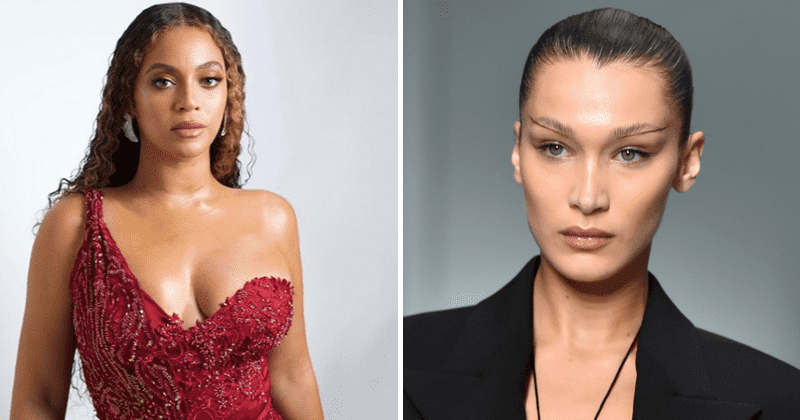 Image result for bella hadid and beyonce