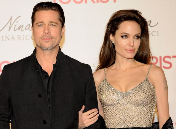 Angelina filed for divorce from Brad in December of 2016