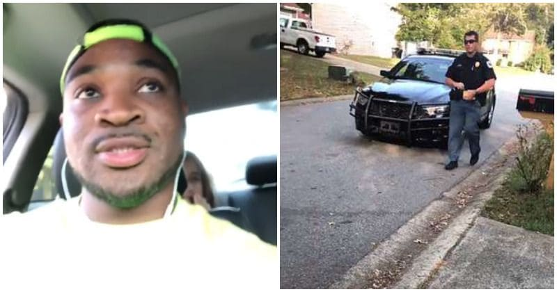 White woman reports black man to 911 for babysitting two white