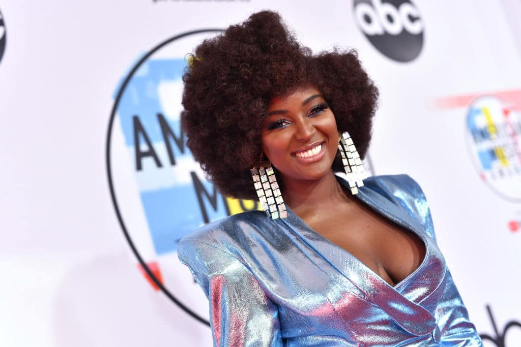 Amara La Negra attends the 2018 American Music Awards at Microsoft Theater on October 9, 2018, in Los Angeles, California. (Getty Images)