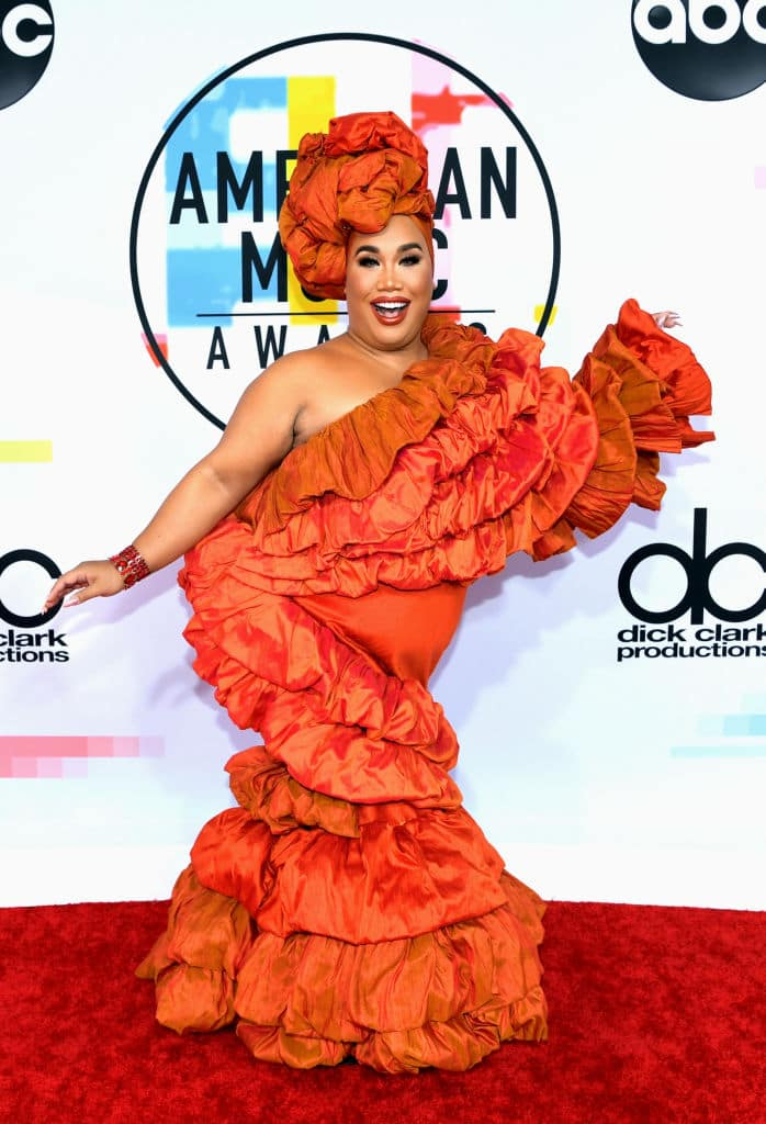 Patrick Starrr attends the 2018 American Music Awards at Microsoft Theater on October 9, 2018, in Los Angeles, California. (Getty Images)