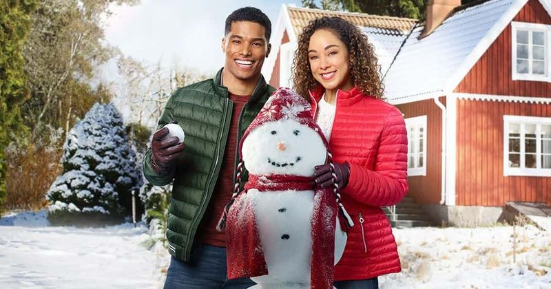 Cast Of A Christmas Kiss.A Christmas Duet On Hallmark Release Date Plot Cast