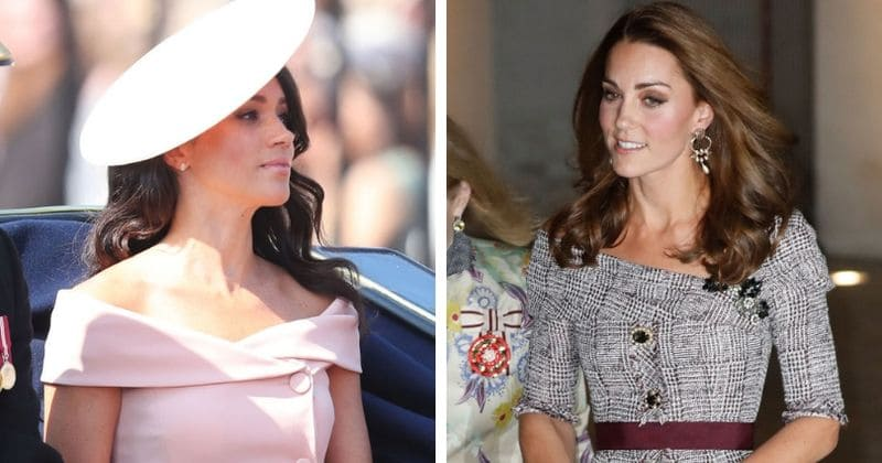 Kate Middleton shows of slender frame in stunning dress that seems to be inspired by Meghan Markle