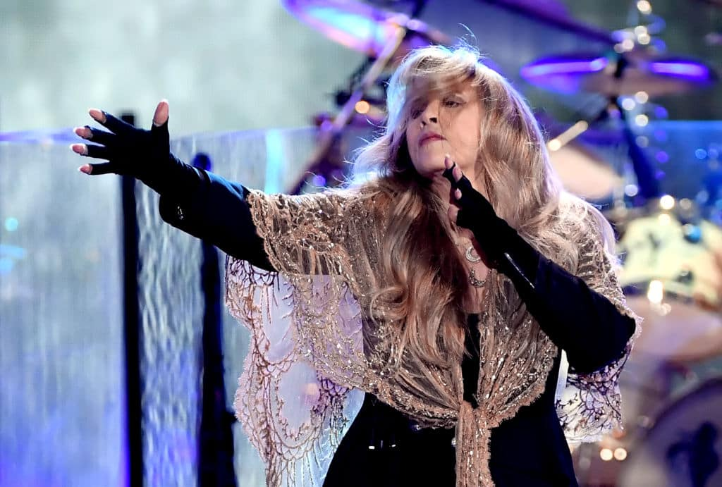Stevie Nicks of Fleetwood Mac performs onstage during the 2018 iHeartRadio Music Festival at T-Mobile Arena on September 21, 2018, in Las Vegas, Nevada. (Getty Images)