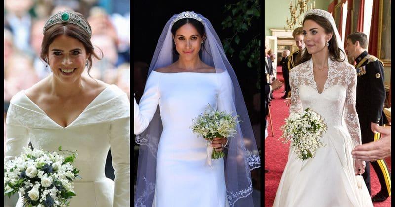 Princess Kate Wedding Dress.How Princess Eugenie S Wedding Dress Fares When Compared To Meghan
