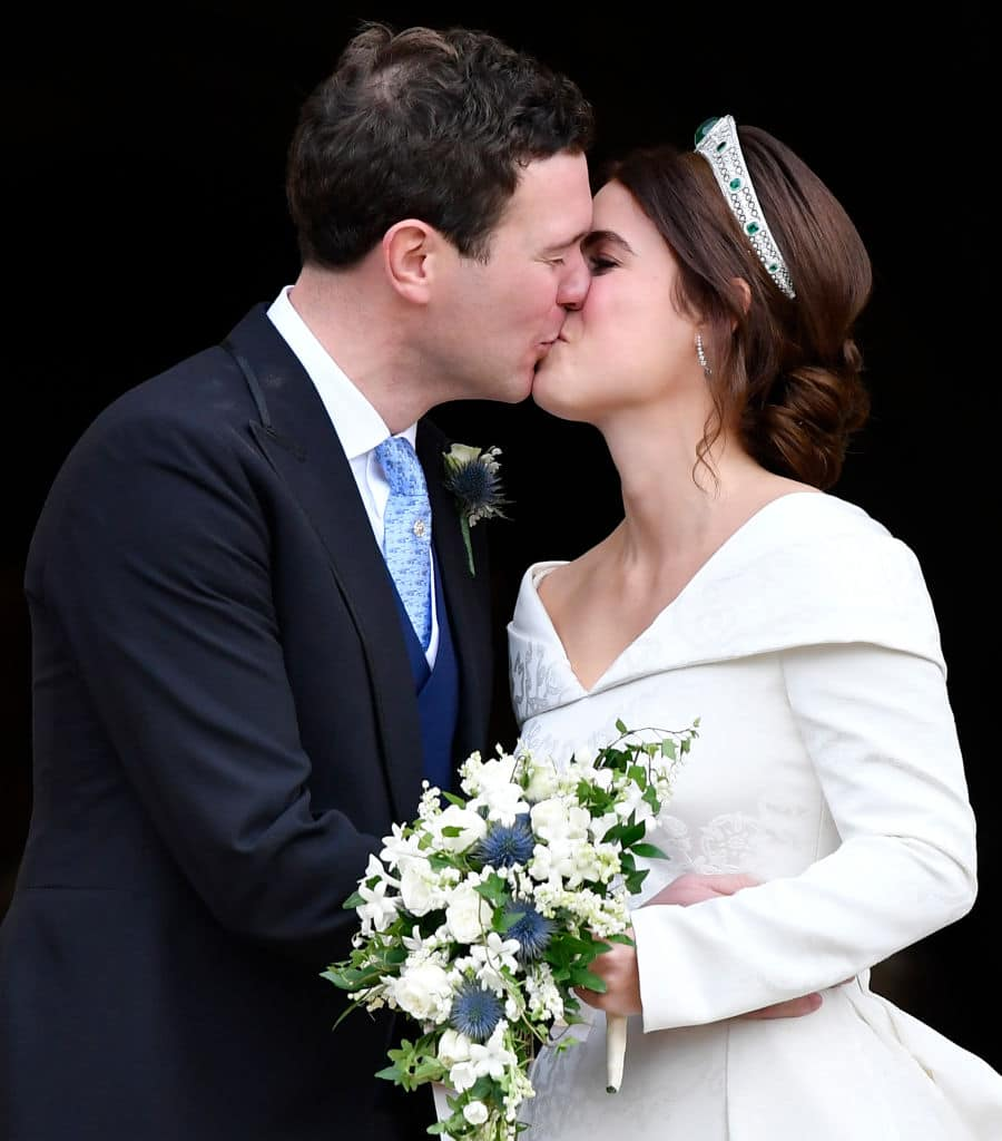 Eugenie wanted to honor the people who looked after her by keeping the scar exposed (Getty Images)