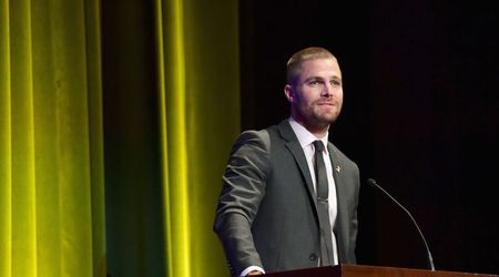 Stephen Amell and Yael Cohen Braun honored at the first annual Barbara Berlanti Heroes Gala benefitting F Cancer