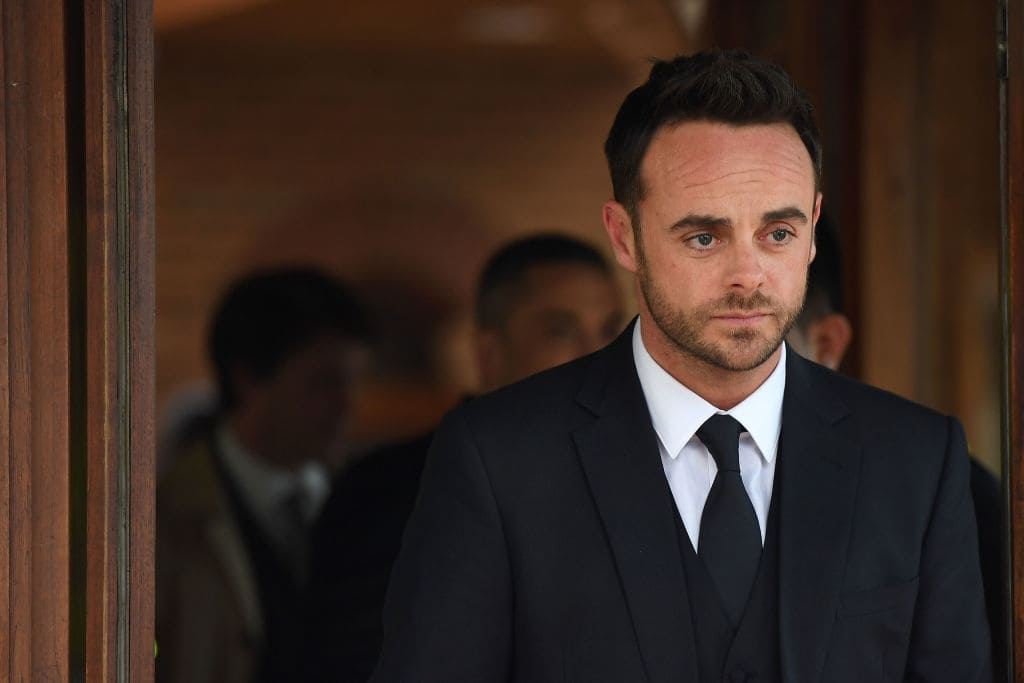 Ant McPartlin announced the end of his marriage in January.(Photo by Chris J Ratcliffe/Getty Images)
