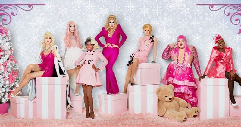 Rupauls Christmas Special.Stars From Rupaul S Drag Race Brighten The Season In New