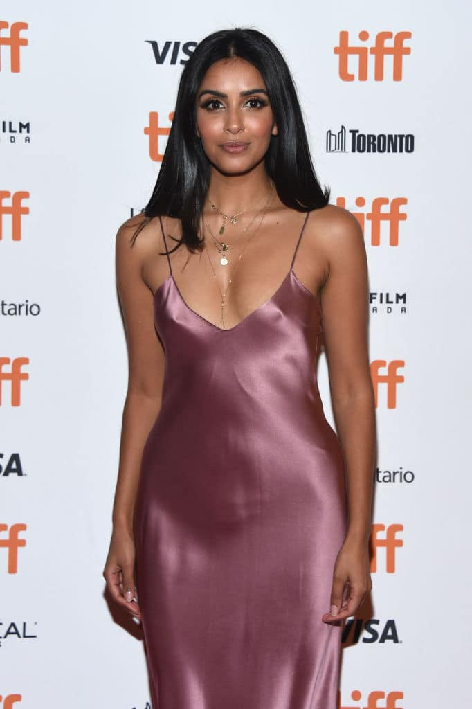 Parveen Kaur attends the 'Through Black Spruce' premiere during 2018 Toronto International Film Festival at Winter Garden Theatre on September 8, 2018, in Toronto, Canada. (Getty Images)