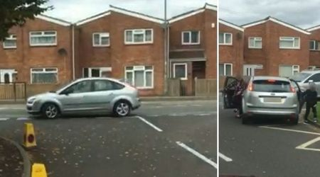 Arrogant driver breaks 10 rules in less than 90 seconds while dropping child off at school