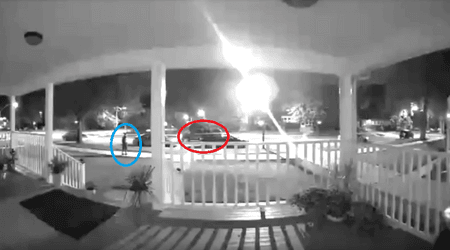 Home surveillance footage shows off-duty police officer shooting autistic teen without any provocation