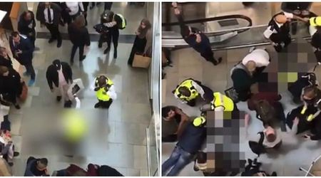 Woman left with 'life-changing' injuries after man falls on her from top floor of Westfield Shopping Center
