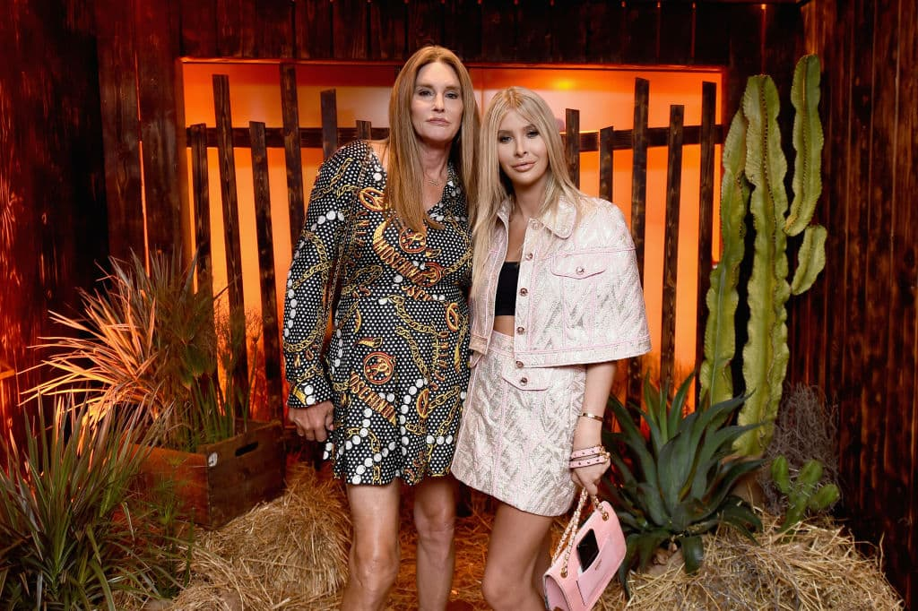 Caitlyn Jenner and Sophia Hutchins (Source: Getty Images)