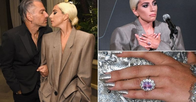 Lady Gaga S Stunning Engagement Ring Is Estimated To Be Worth A Whopping 1 Million Meaww