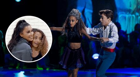 'Dancing with the Stars: Juniors': Sophia Pippen eliminated despite getting advice on 'confidence' from godmother Kim Kardashian