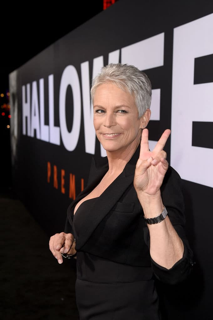 Jamie Lee Curtis attends the Universal Pictures' 'Halloween' premiere at TCL Chinese Theatre on October 17, 2018, in Hollywood, California. (Getty Images)
