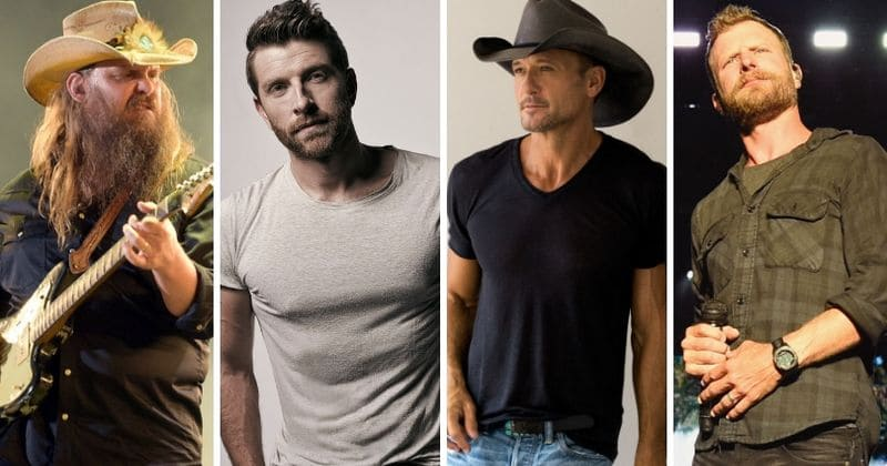 Chris Stapleton Tim Mcgraw Brett Eldredge And Dierks