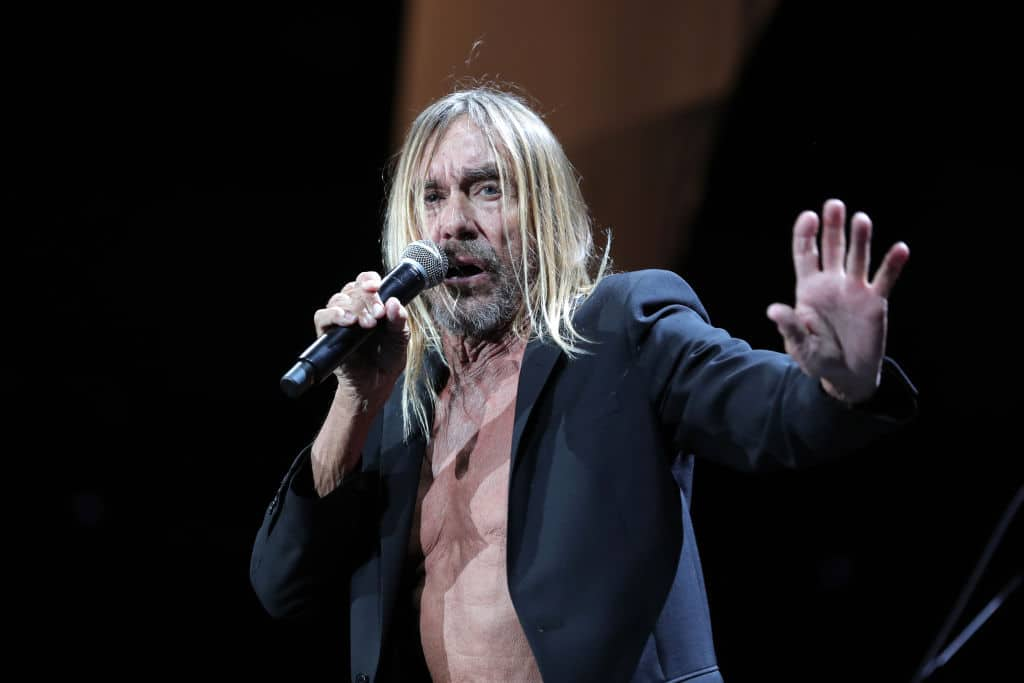 Iggy Pop performs during Cal Jam 18 at Glen Helen Regional Park on October 06, 2018, in San Bernardino, California. (Getty Images)