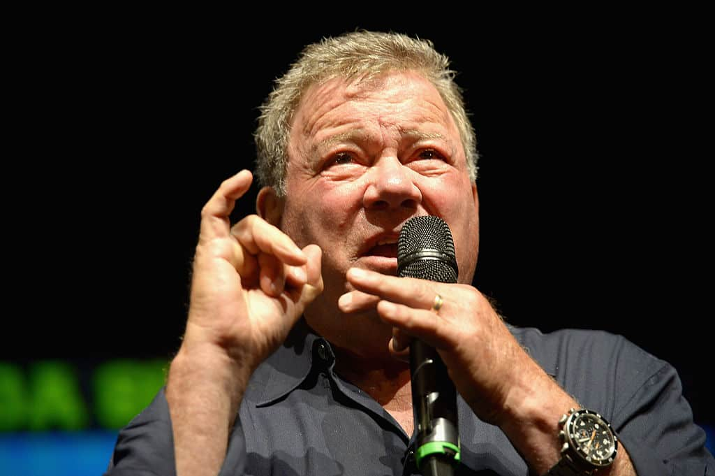 William Shatner attends Florida Supercon 2016 at Miami Beach Convention Center on July 2, 2016 in Miami Beach, Florida. (Getty Images)