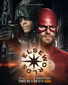 Official poster for 'Elseworlds'