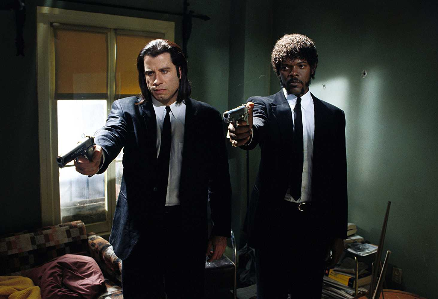 Samuel L Jackson as Jules Winnfield in Pulp Fiction(IMDb)
