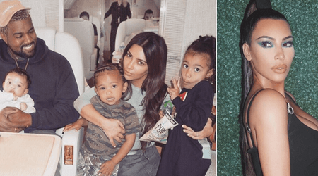 Kim Kardashian reveals that Kanye West is 'harassing' her for more children and hopes to be a father of seven
