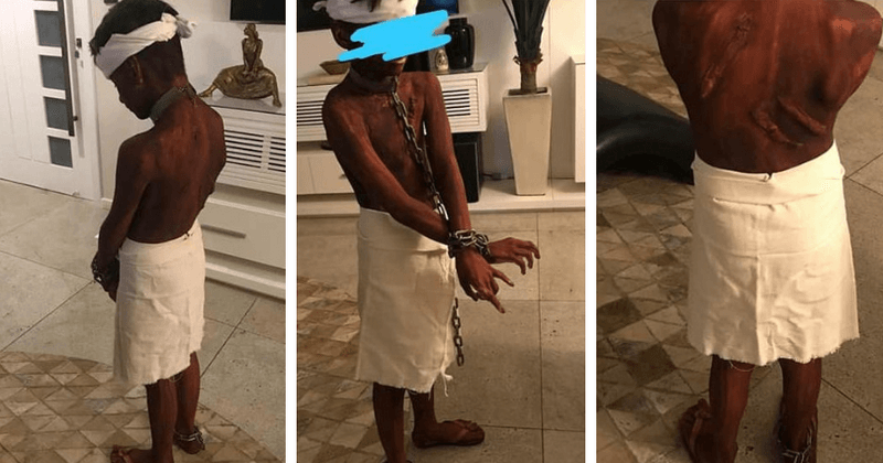 Outrage As Mother Dresses Up Her 9-Year-Old Son As A -2176