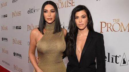 Kim Kardashian says she was 'lying' when she said Kourtney was 'the least interesting to look at'