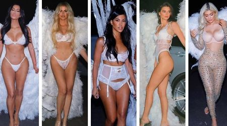 KarJenners take Halloween glam to new heights with epic Victoria's Secret Angel costumes