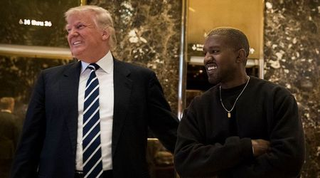 "Trump denies rift with Kanye West despite rapper's claims he's been ""used to spread messages"" he doesn't believe in"