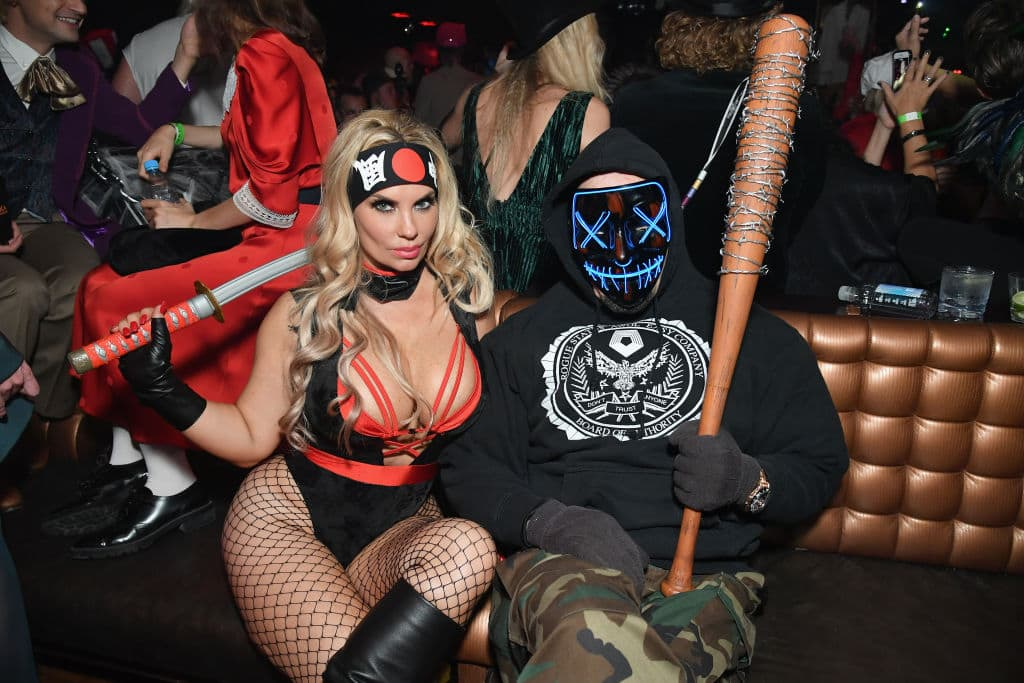 Coco Austin and Ice-T attend Heidi Klum's 19th Annual Halloween Party presented by Party City and SVEDKA Vodka at LAVO New York on October 31, 2018, in New York City. (Getty Images)