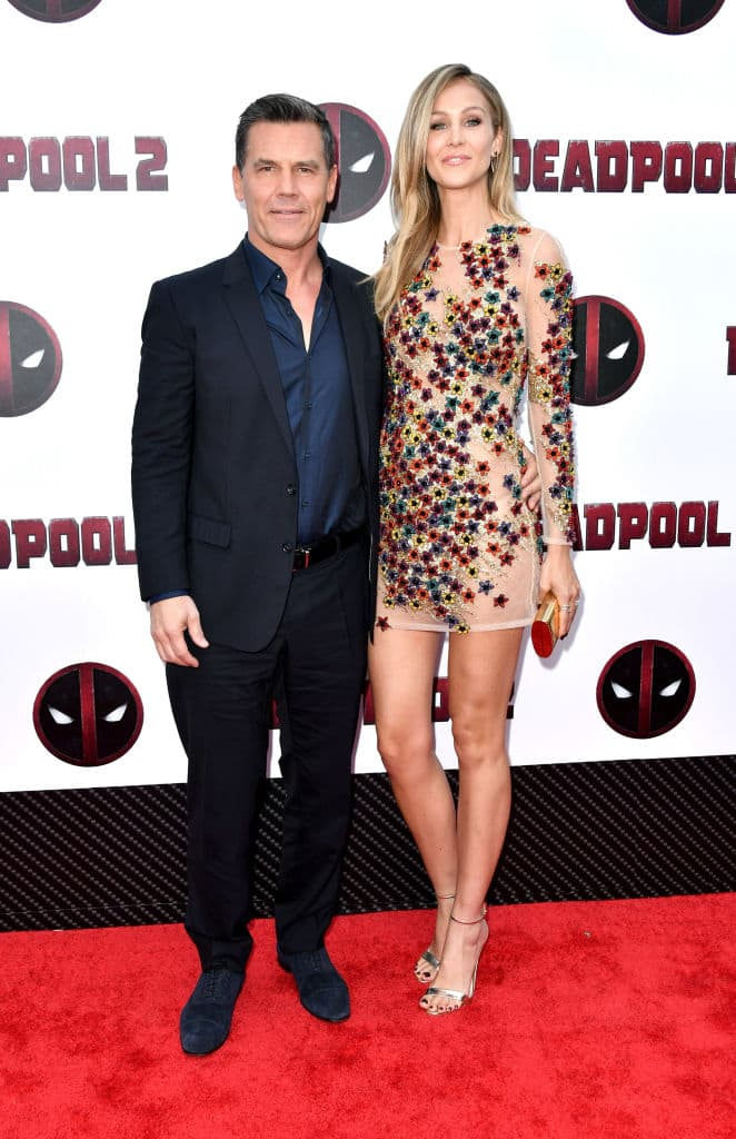 Actor Josh Brolin and Kathryn Boyd attend the Deadpool 2 screening at AMC Loews Lincoln Square on May 14, 2018, in New York City. (Getty Images)