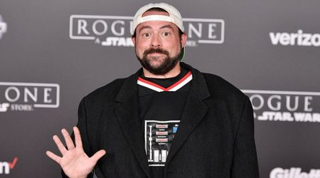 Kevin Smith shows off his 51-pound weight loss after massive heart