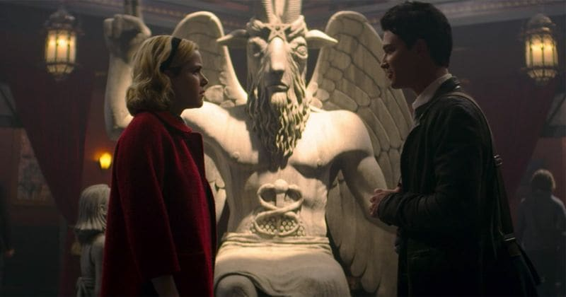Satanic Temple sues Netflix & Warner Bros. for $150 million for using Baphomet's statue in 'Chilling Adventures of Sabrina'