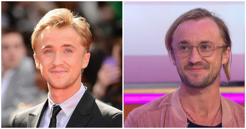 Harry Potter star Tom Felton is all grown up and looks nothing like Draco Malfoy anymore