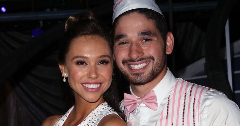 'Dancing with the Stars' season 27: Alan Bersten admits he has feelings for Alexis Ren following their on screen kiss