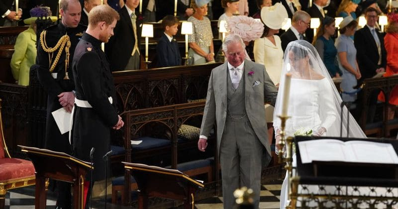 Prince Harry reveals how Prince Charles readily agreed to walk Meghan Markle down the aisle on their wedding