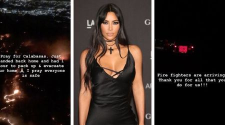Calabasas Wildfire: Kim Kardashian forced to evacuate her home as fire sweeps through her Hidden Hills neighborhood