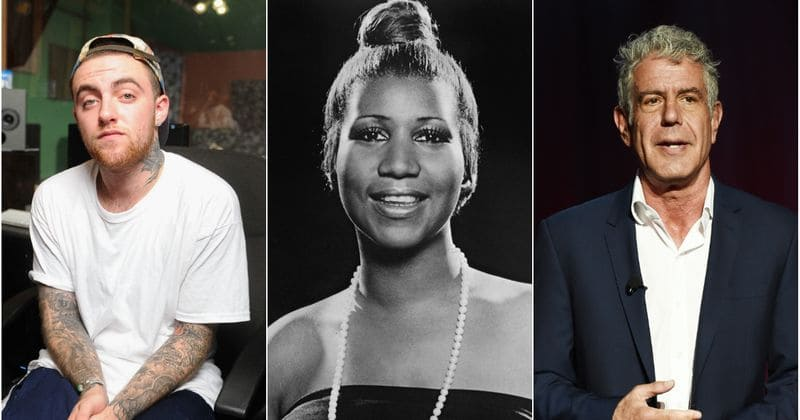 In Memoriam 2018: Mac Miller, Aretha Franklin, Anthony Bourdain and other celebs we lost this year
