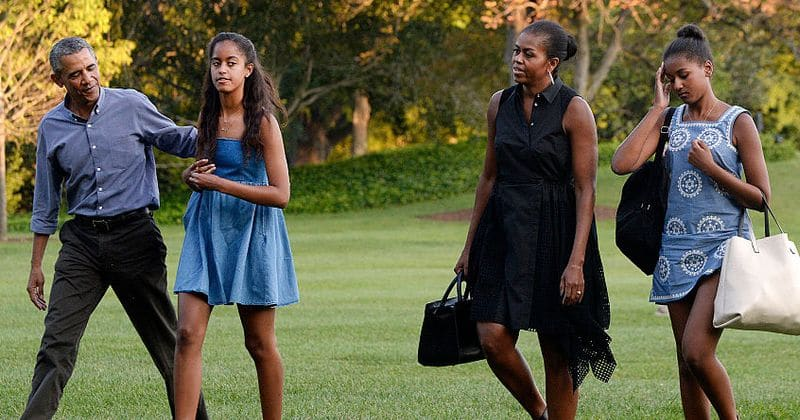 Malia Obama told dad Barack to 'just be cool' when a boy she